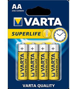 AA baterijas Varta Superlife , 4 gab.