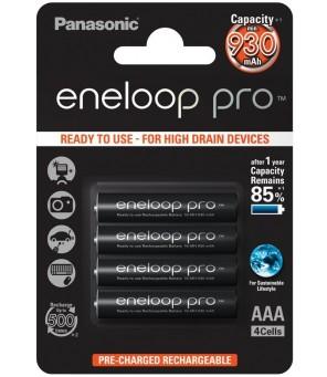 Panasonic Eneloop PRO 950mAh AAA akumuliatorius, 4 vnt.