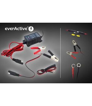 Automātiskais akumulatora lādētājs everActive universāls automātiskais 6 / 12V 1000mA