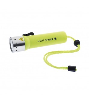 Led Lenser D14.2 niršanas lukturis - Neon Yellow