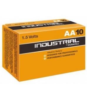 Baterijos Duracell Industrial AA elements, 10 gab.