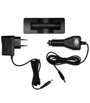 Akumulatora lādētājs 18650 Mactronic AC / DC