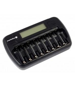 Akumulatora lādētājs ar everActive NC800 1-8 AA / AAA