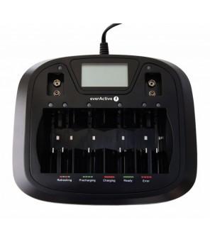 AA AAA C D 9V akumulatora lādētājs NC-900U