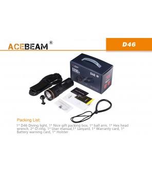 AceBeam D46 niršanas lukturis