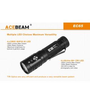 AceBeam EC65 lukturis, Nichia