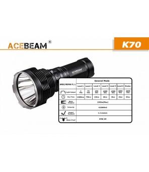 Acebeam K70 lukturis
