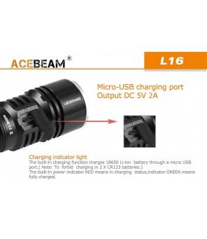 Acebeam L16 lukturis