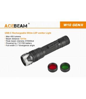 AceBeam W10 GEN II lāzera lukturis