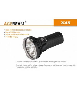 Acebeam X45 lukturis