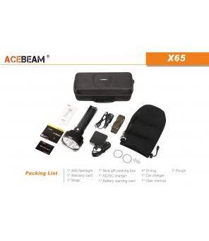 AceBeam X65 lukturis