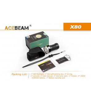 AceBeam X80 25000Lm prožektors