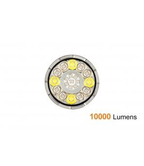 AceBeam X80-UV prožektoru gaisma ar UV gaismu