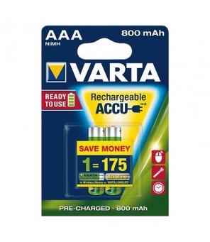 Akumuliatori Longlife Accu AAA 800 mAh (2gab) VARTA 56703
