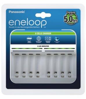 Eneloop Smart lādētājs BQ-CC63 (1-8 AA/AAA)