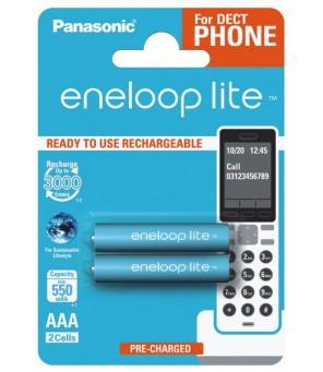 Eneloop Lite R03 AAA 550mAh baterijas, 2gab