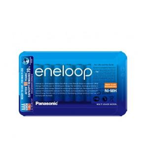 Eneloop R03 AAA 800mAh BK-4MCCE/8LE 8gab. Uzlādējamās baterijas