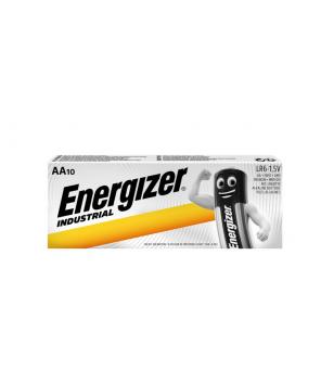 Energizer Industrial AA LR06 baterija, 10x