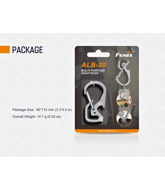 Fenix ALB-20 daudzfunkcionāls stiprinājuma āķis
