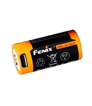 16340 usb uzlādējams akumulators  Fenix ARB-L16-700UP