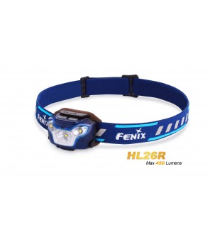 FENIX HL26R lukturis, zils