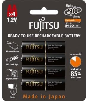 Fujitsu PRO AA baterijas 2550 mAh, 4gab.