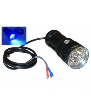 Spēcīgs ultravioletais prožektors 18W 12V