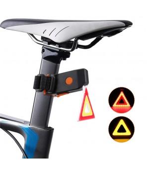 Aizmugures velosipēda Trīsstūris