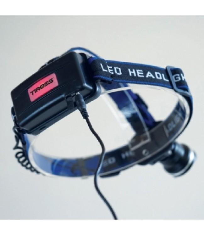 10W LED uzlādējama lukturītim uz galvas