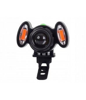 LED velosipēdu lampa XML T6 2 COB