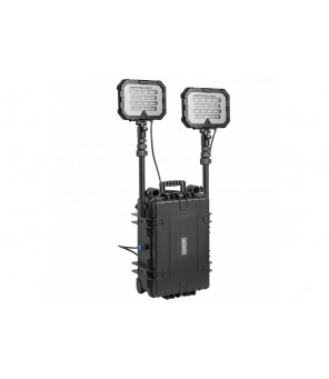 Mobilus šviestuvas MONSTERLIGHT TWIN 50 Ah 36 000lm