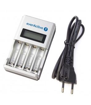 Automātisks AA / AAA akumulatora lādētājs ar LCD everActive NC-450