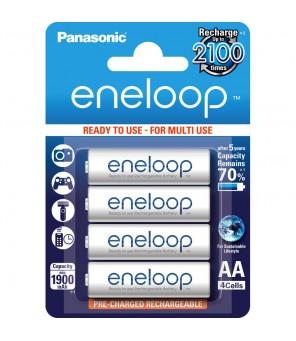 Panasonic Eneloop 1900mAh AA akumuliators, 4gab.