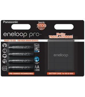 Panasonic Eneloop PRO 2550mAh AA batteries, 4 pcs + box