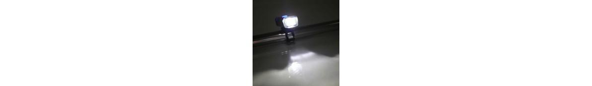 Velosipēdu lukturi, velosipēdu prožektori, kabatas lukturīši un lampas