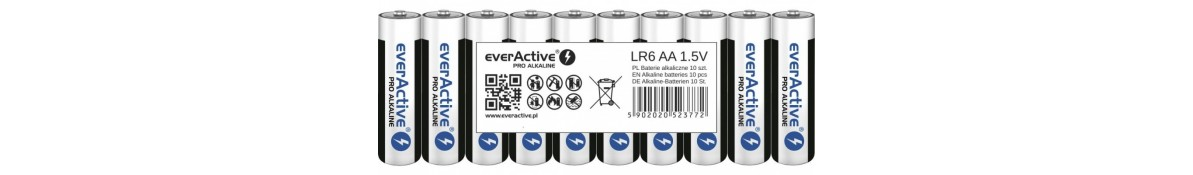 AA baterijas