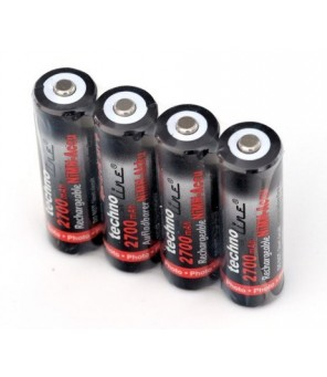 Technoline R6  AA Ni-MH 2700mAh pakraunamos baterijos, 4vnt