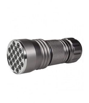 Ultravioletinis LED žibintuvėlis UVLED21 GREY