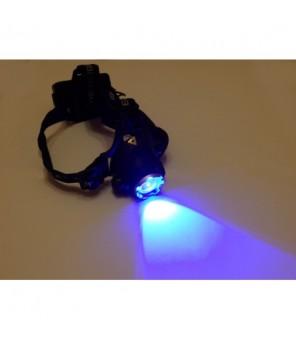 Ultravioletinis žibintuvėlis ant galvos 4,5W