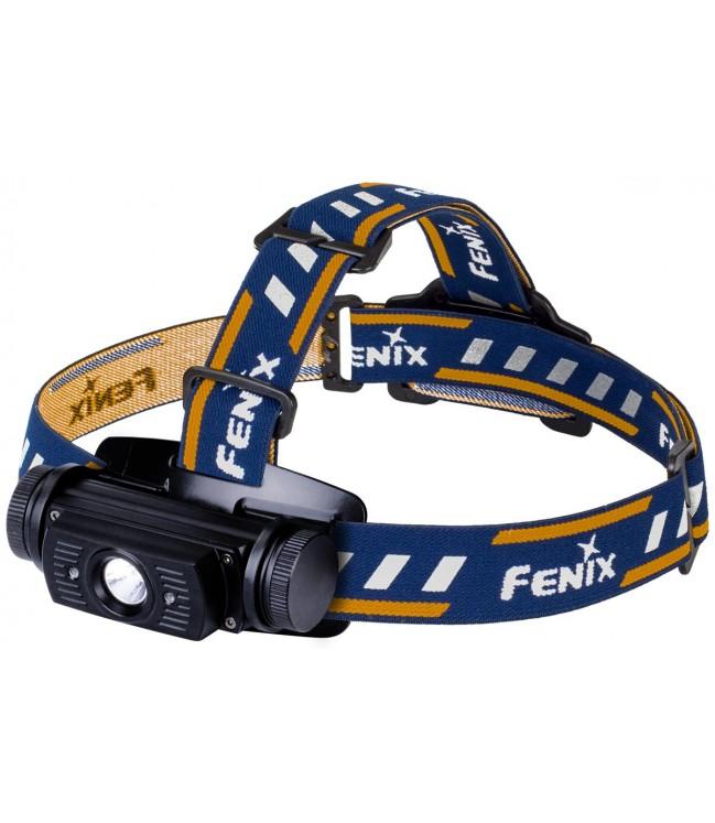 Fenix HL60R USB uzlādējama lukturis, melna
