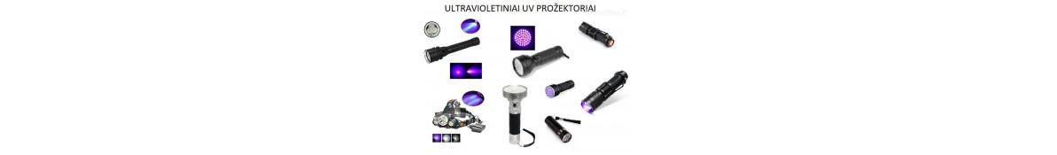 Ultravioletie lukturi un prožektori