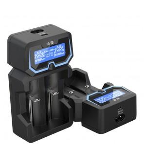XTAR X2 akumulatora lādētājs