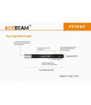 AceBeam PT10-GT mini lukturis Nichia