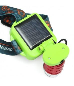 Pakraunamas žibintuvėlis su saulės baterija
